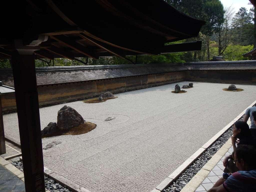 枯山水 京都 龍安寺