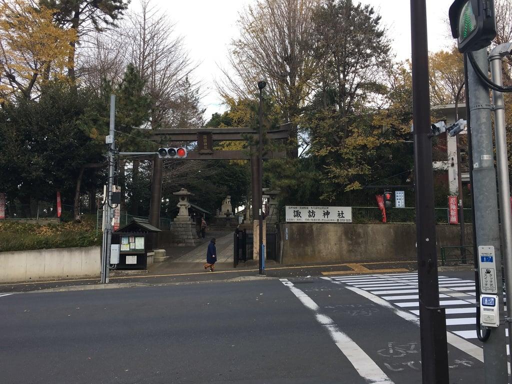 諏訪神社(東京都西早稲田駅)