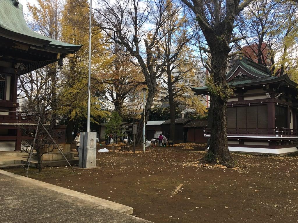 諏訪神社のその他建物(東京都西早稲田駅)