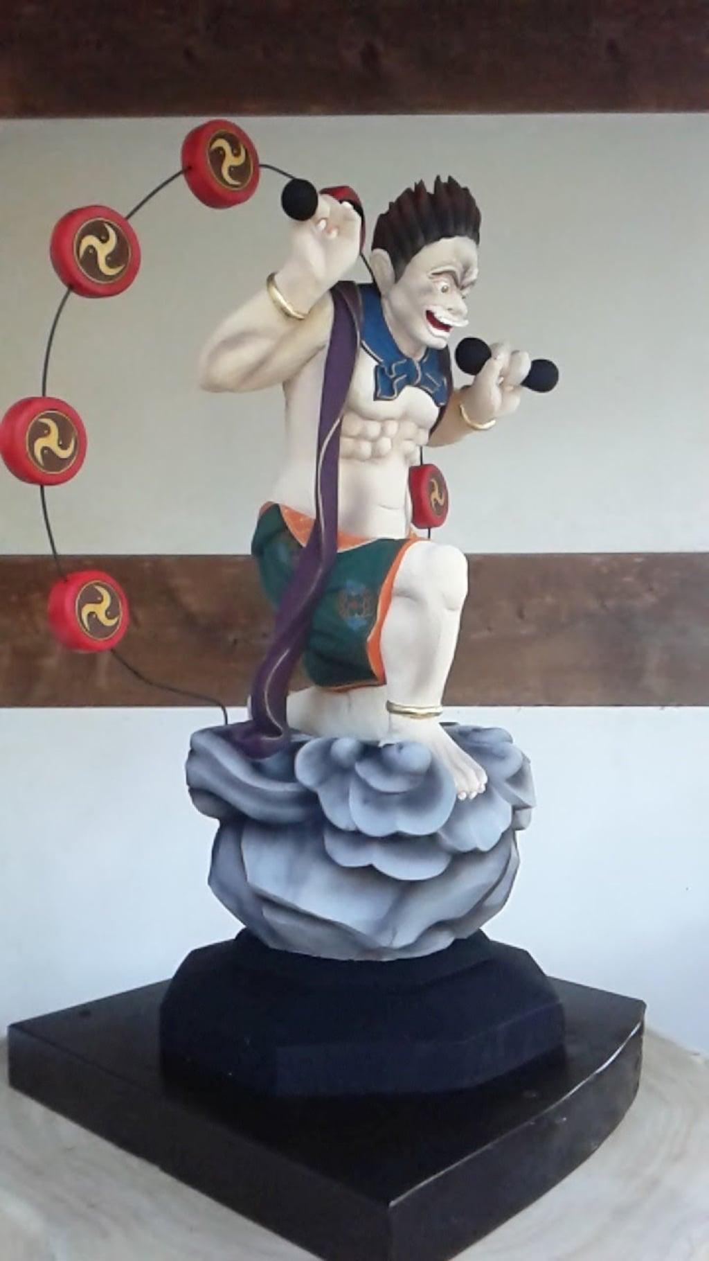 松山寺の像