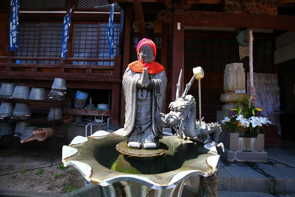竜覚寺の地蔵