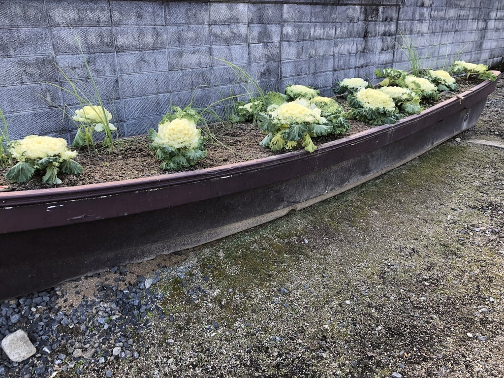 美作総社宮の庭園