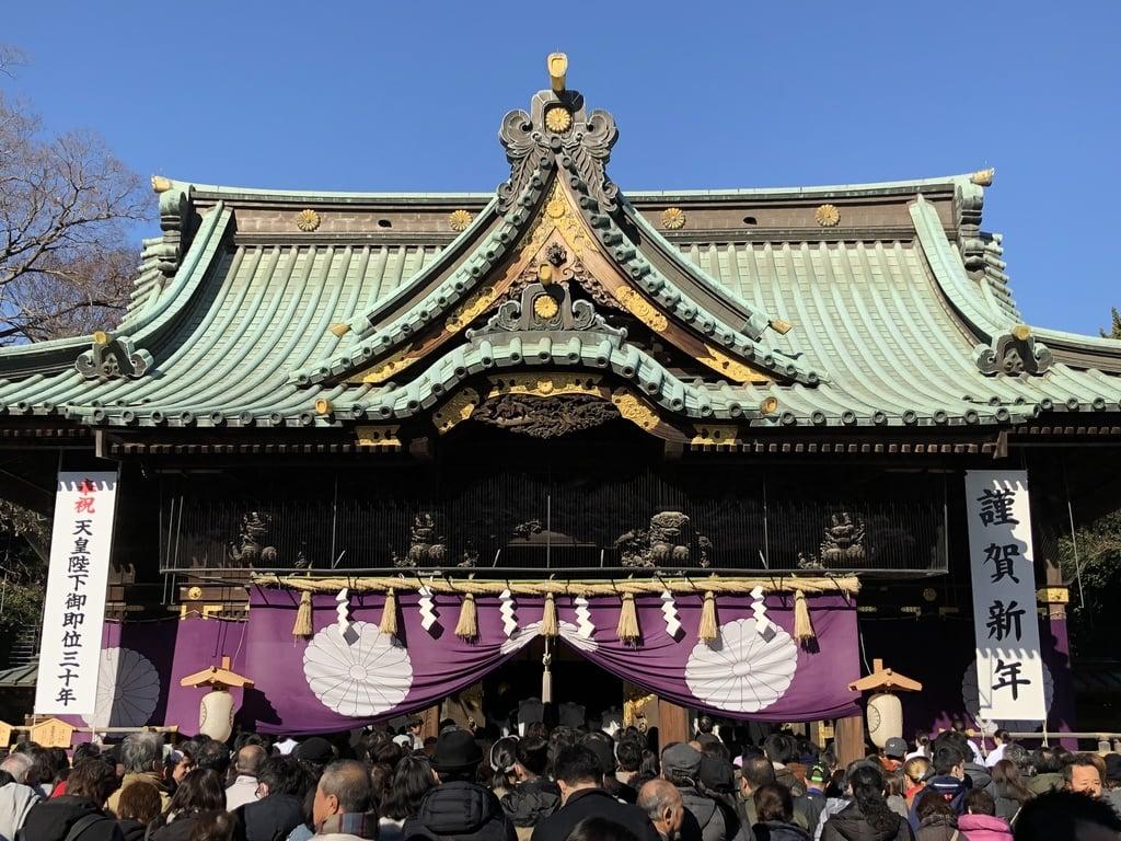 三嶋大社の初詣