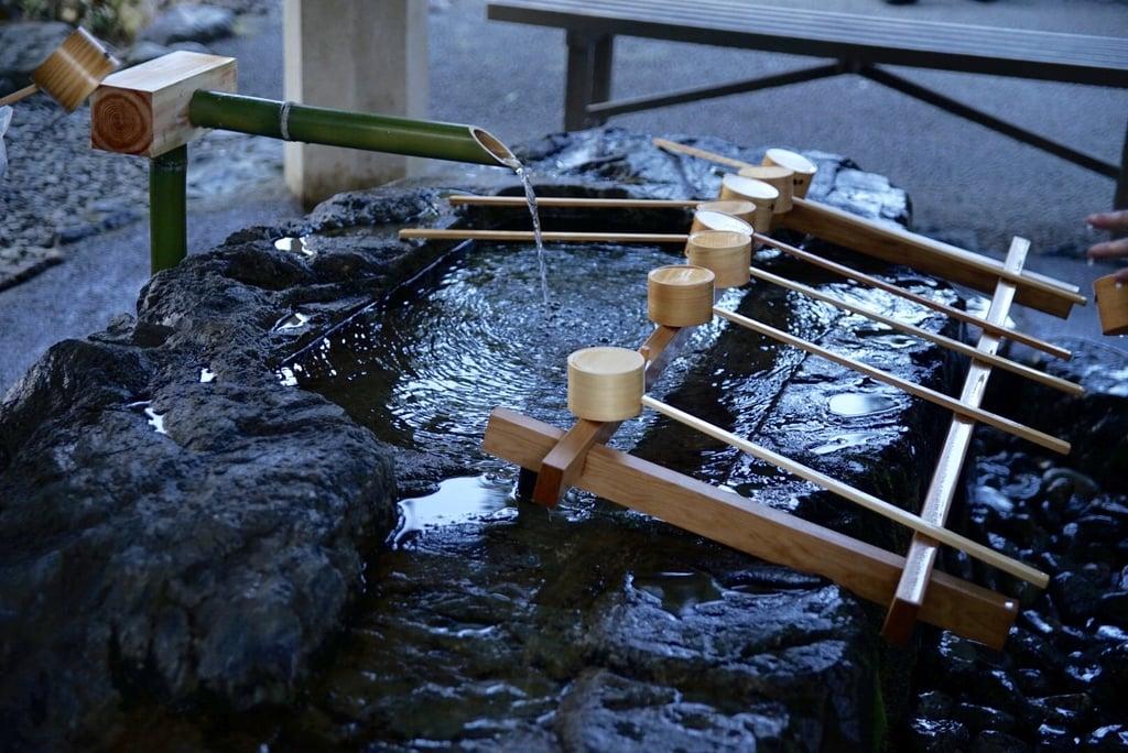 猿田彦神社の手水