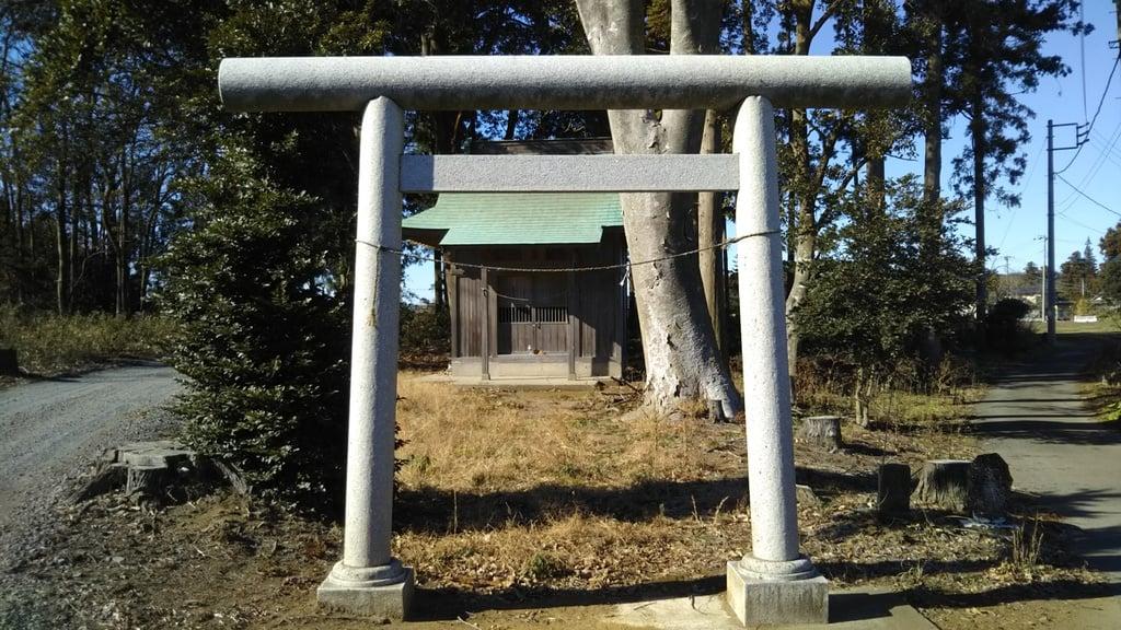 素鵞神社の鳥居