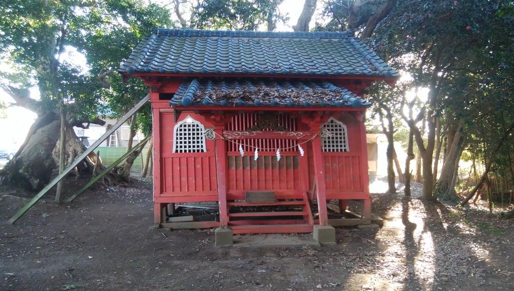 塙神社の本殿