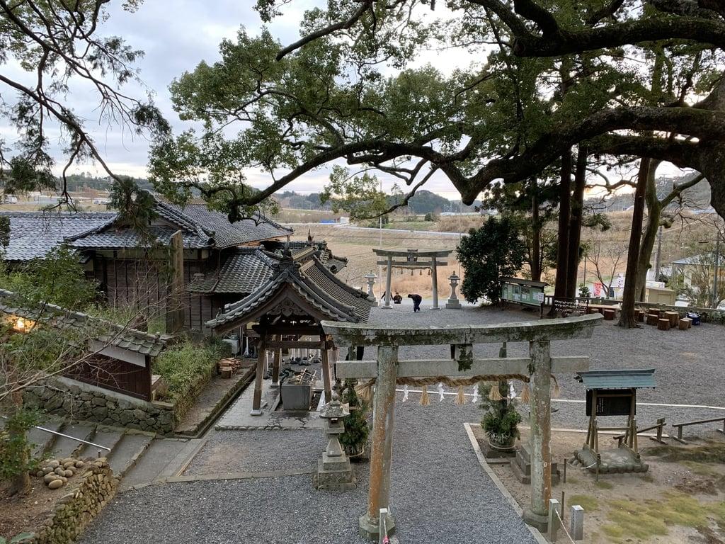 事任八幡宮(静岡県菊川駅)