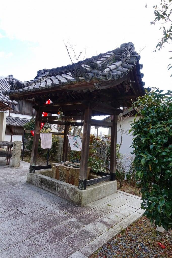 西江寺の手水