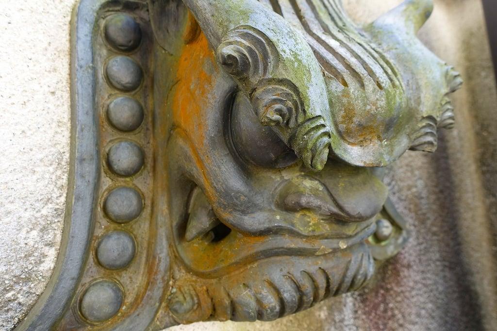 西江寺の狛犬