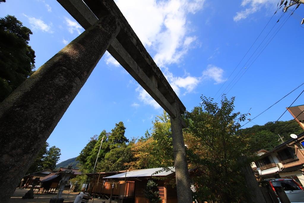 須佐神社(島根県江南駅)