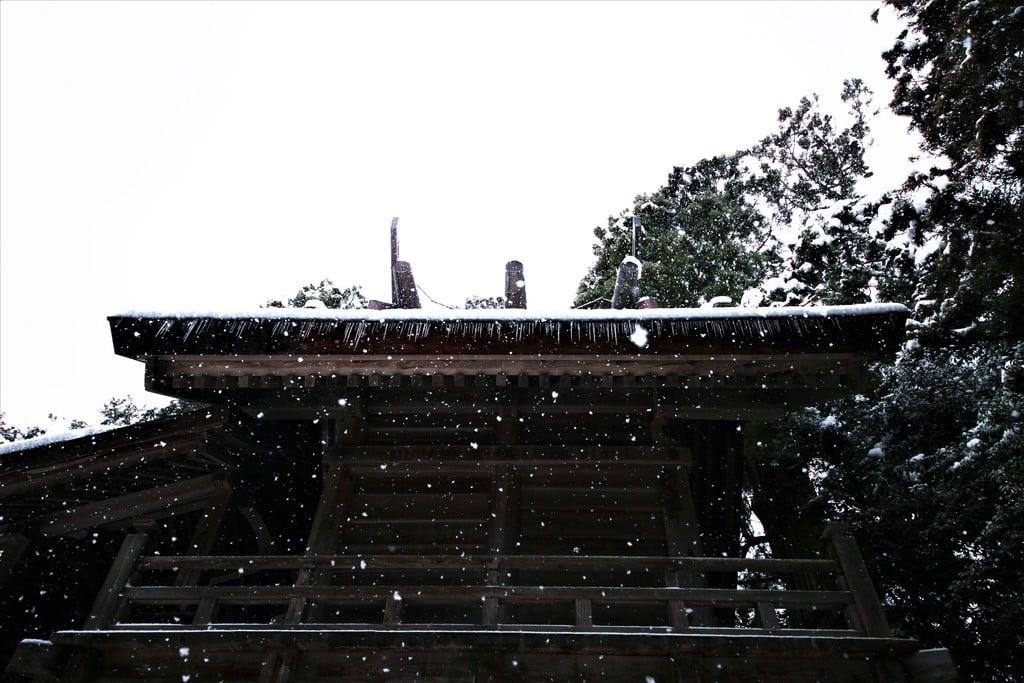 須佐神社の本殿・本堂(島根県江南駅)
