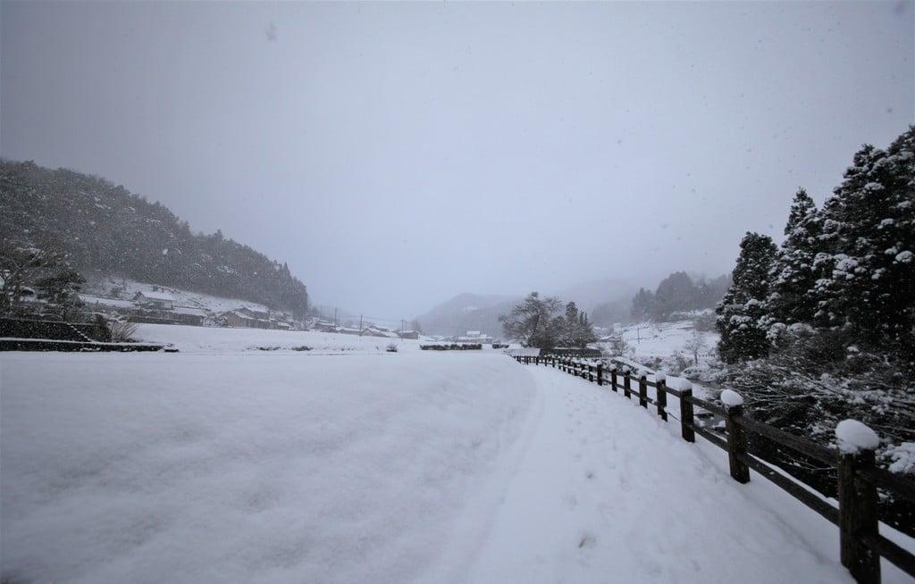 須佐神社の景色(島根県江南駅)