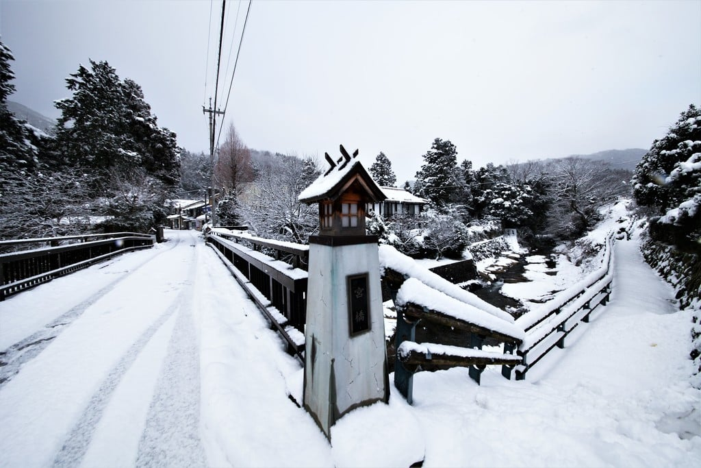 須佐神社の周辺(島根県江南駅)