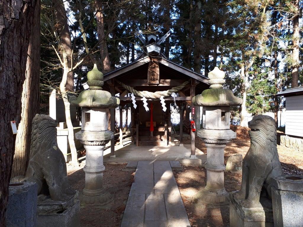 熊野神社(岩手県石鳥谷駅)