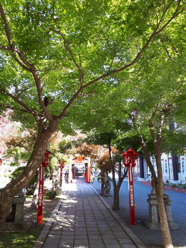 榊山稲荷神社(岩手県上盛岡駅)