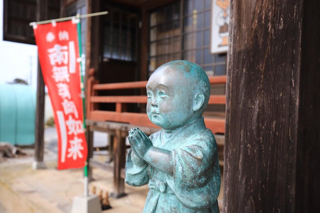 薬師寺の像(島根県西出雲駅)