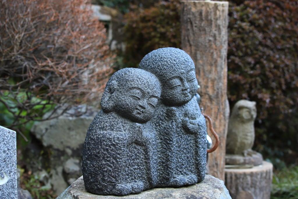 峯寺の地蔵