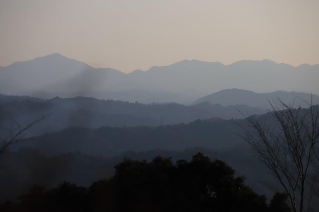 峯寺の景色