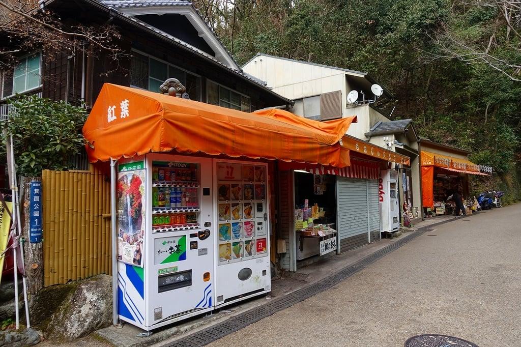 瀧安寺の周辺