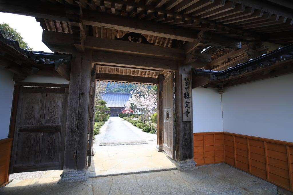 勝定寺の山門