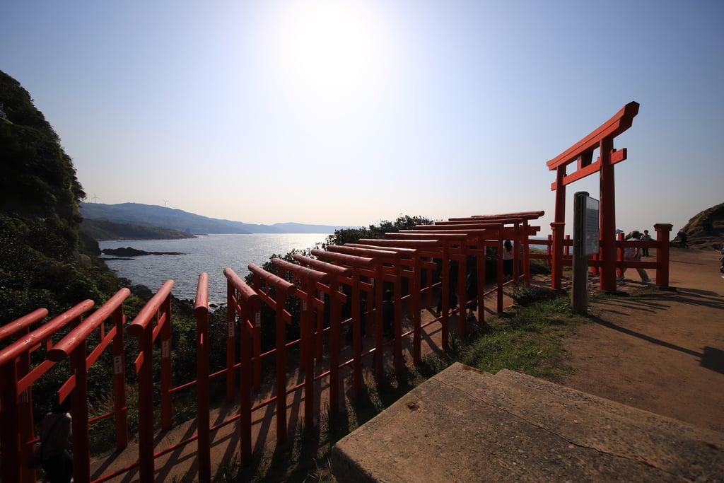 元乃隅神社(山口県長門古市駅)
