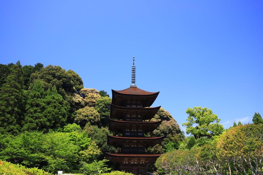 瑠璃光寺(山口県上山口駅)