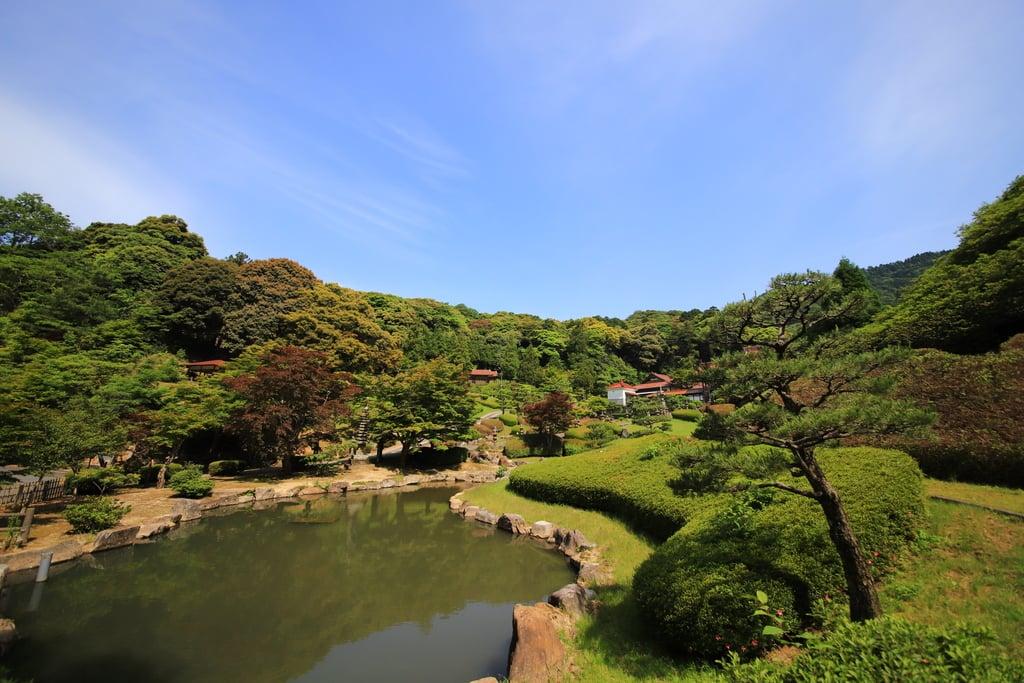 竜雲寺(島根県三保三隅駅)