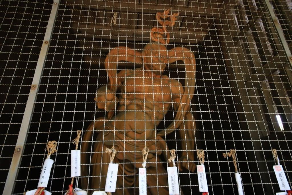 多陀寺の仏像(島根県下府駅)