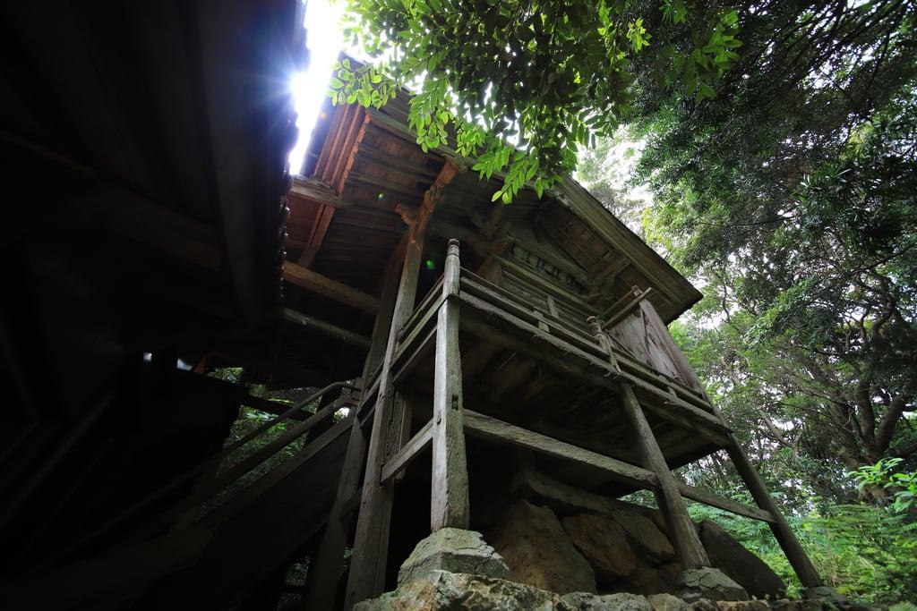 多陀寺の本殿・本堂(島根県下府駅)