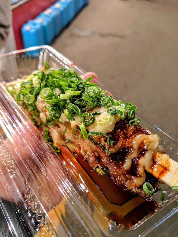今宮戎神社の食事