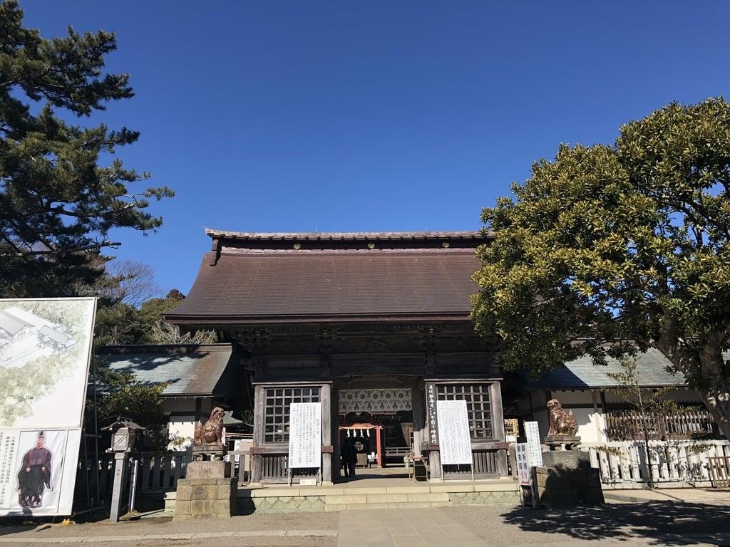 大洗磯前神社の本殿・本堂(茨城県大洗駅)