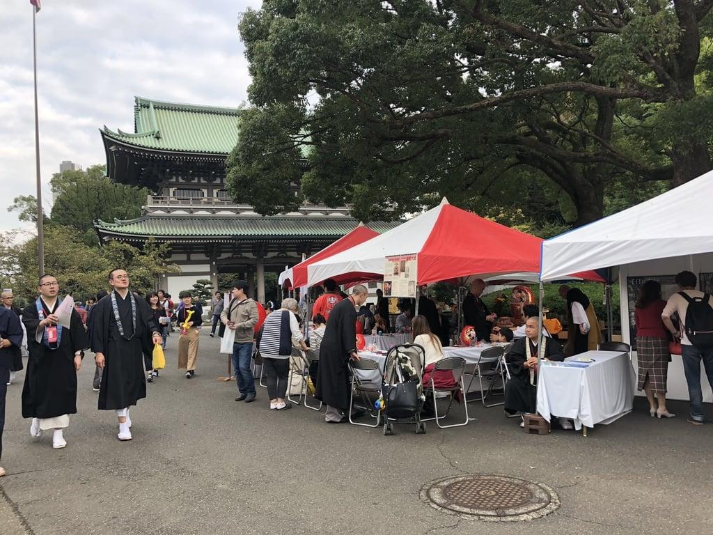 総持寺のお祭り(神奈川県鶴見駅)