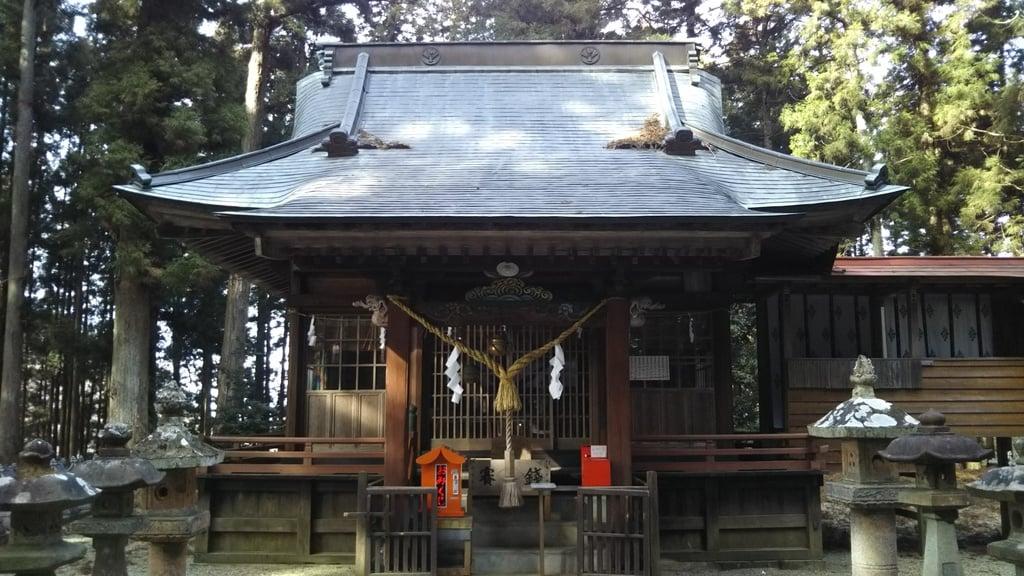 諏訪神社(茨城県袋田駅)