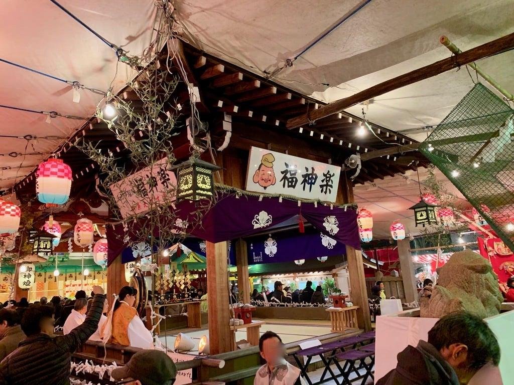柳原蛭子神社の神楽(兵庫県兵庫駅)