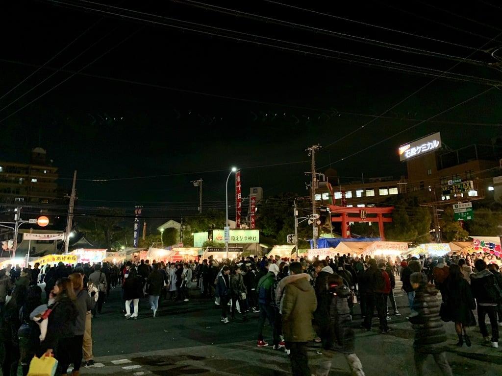 柳原蛭子神社のお祭り(兵庫県兵庫駅)