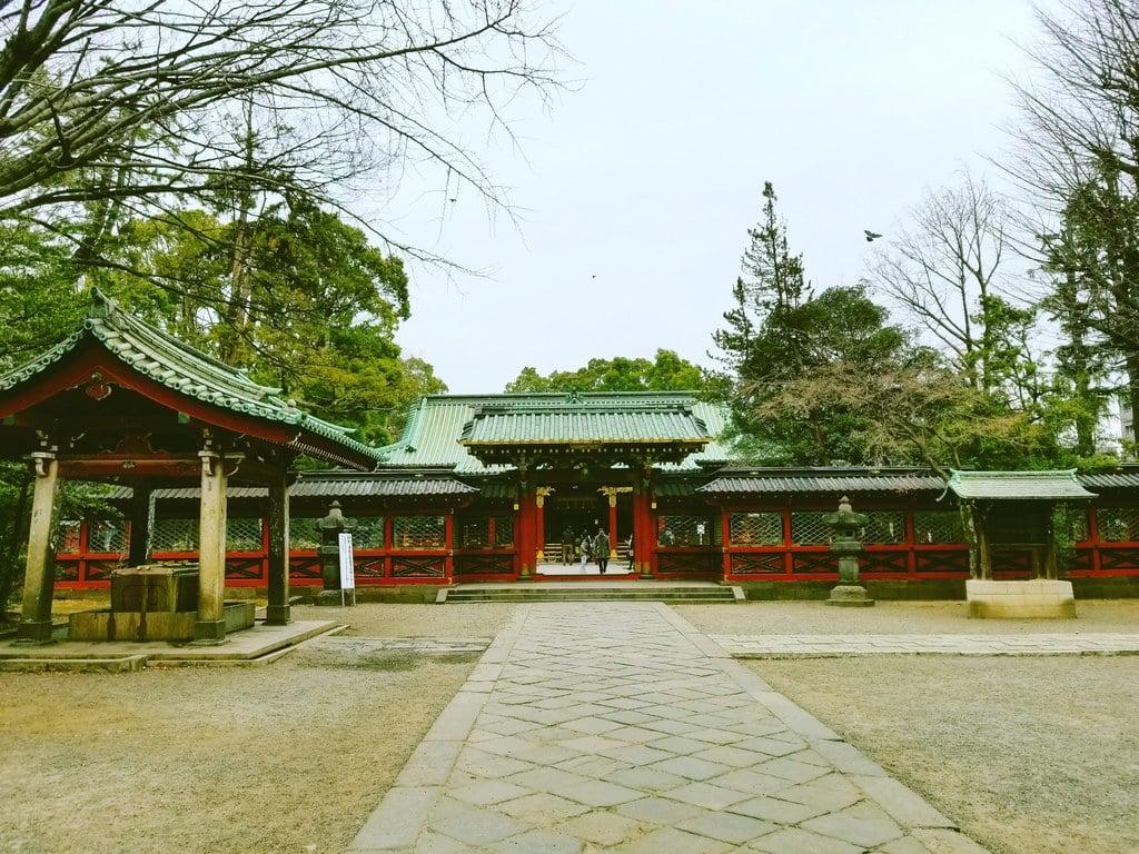 根津神社(東京都根津駅)