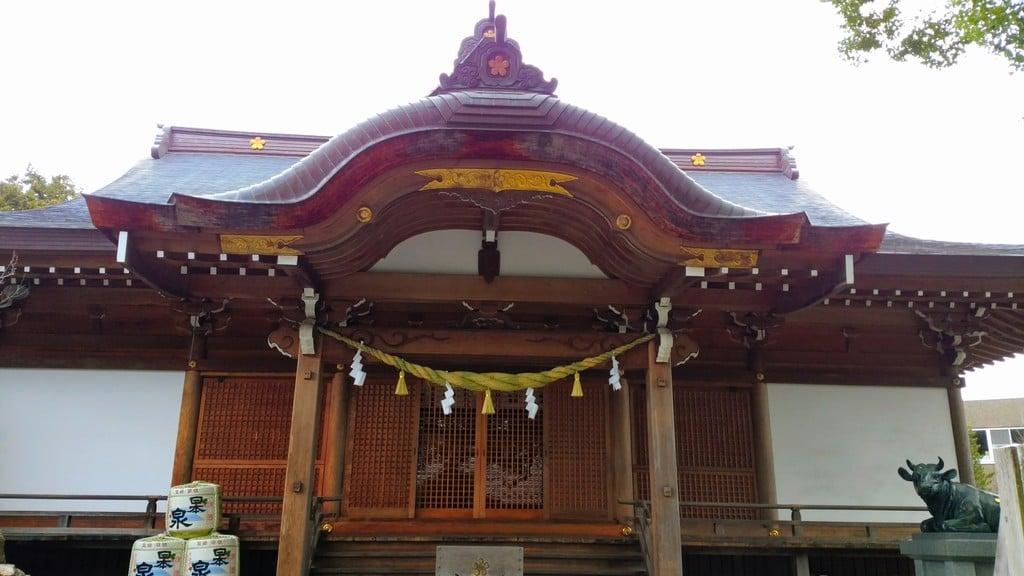 加納天満宮の本殿