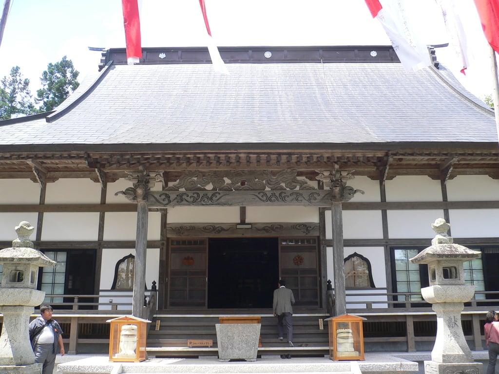 常堅寺の本殿