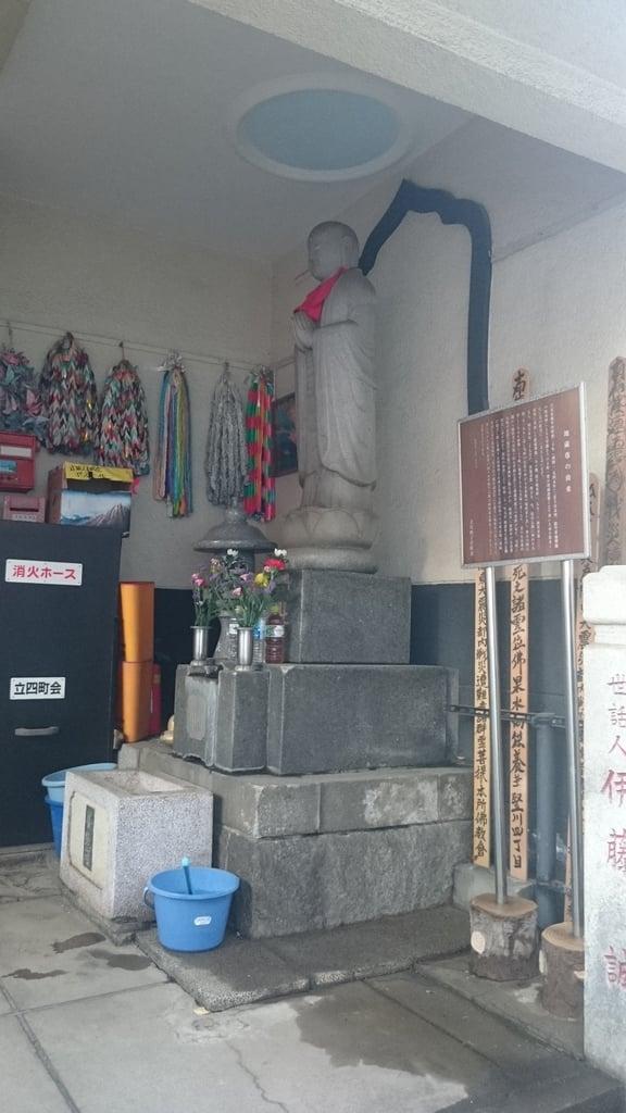 榎稲荷神社の地蔵