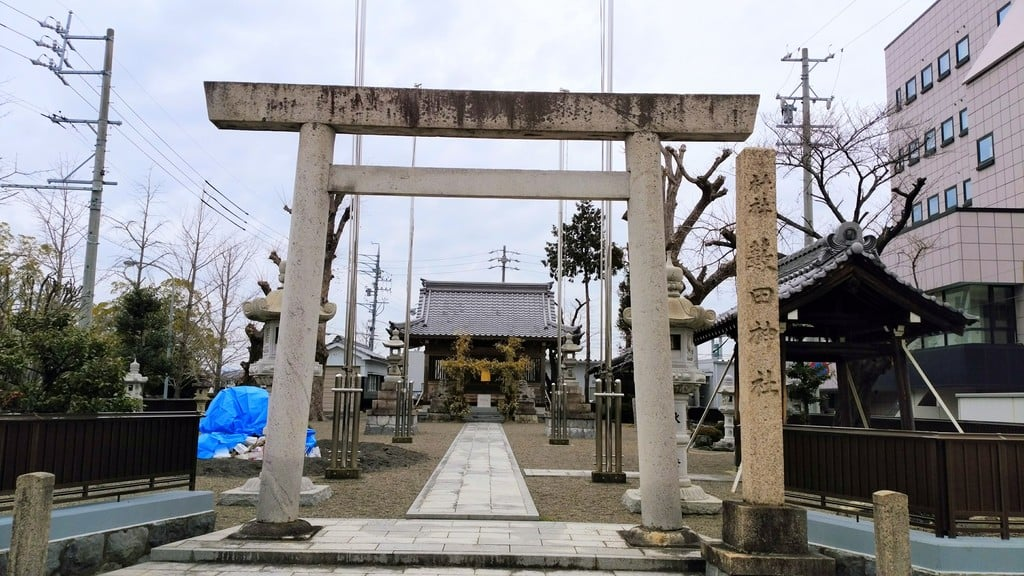 薮田神社の鳥居