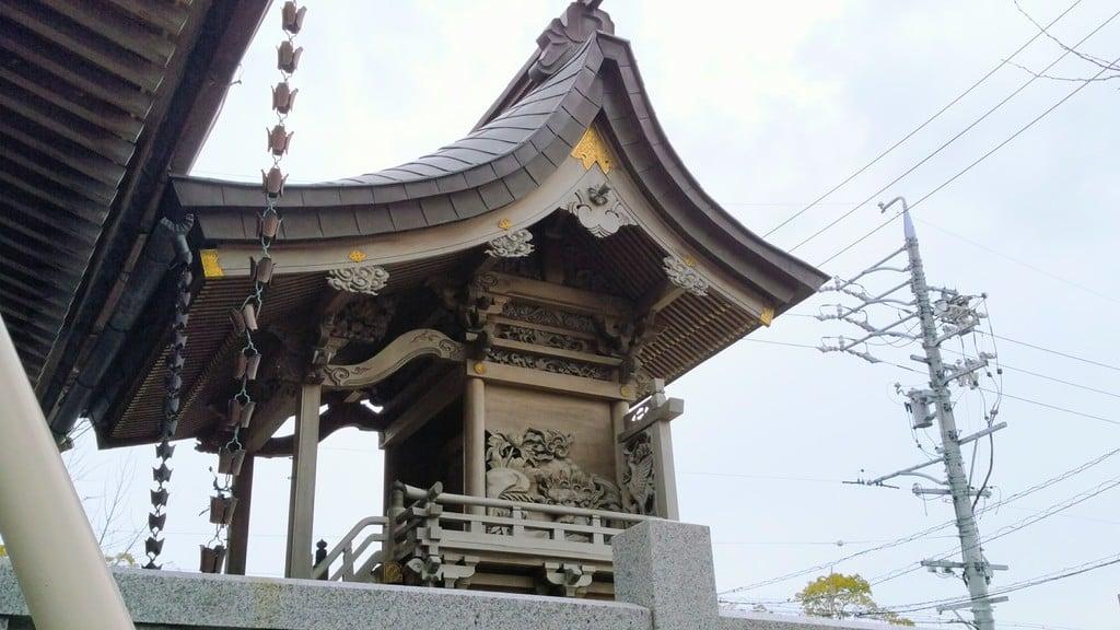 薮田神社の本殿