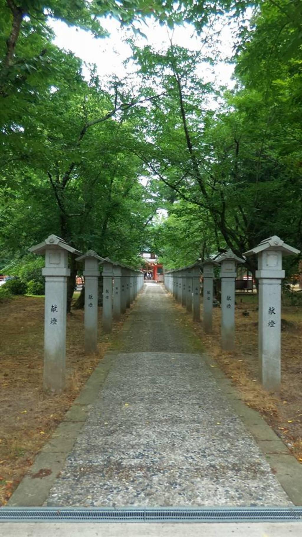 出石神社の建物その他(兵庫県国府駅)
