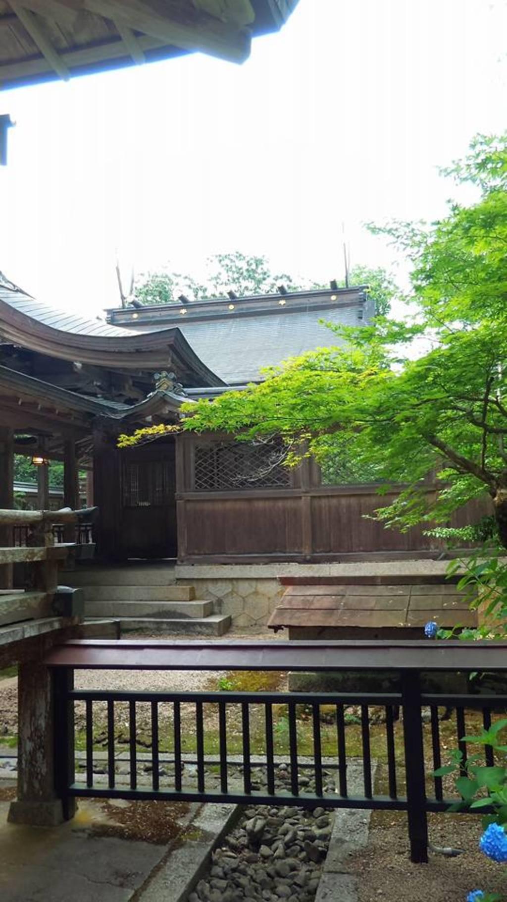 出石神社(兵庫県国府駅)