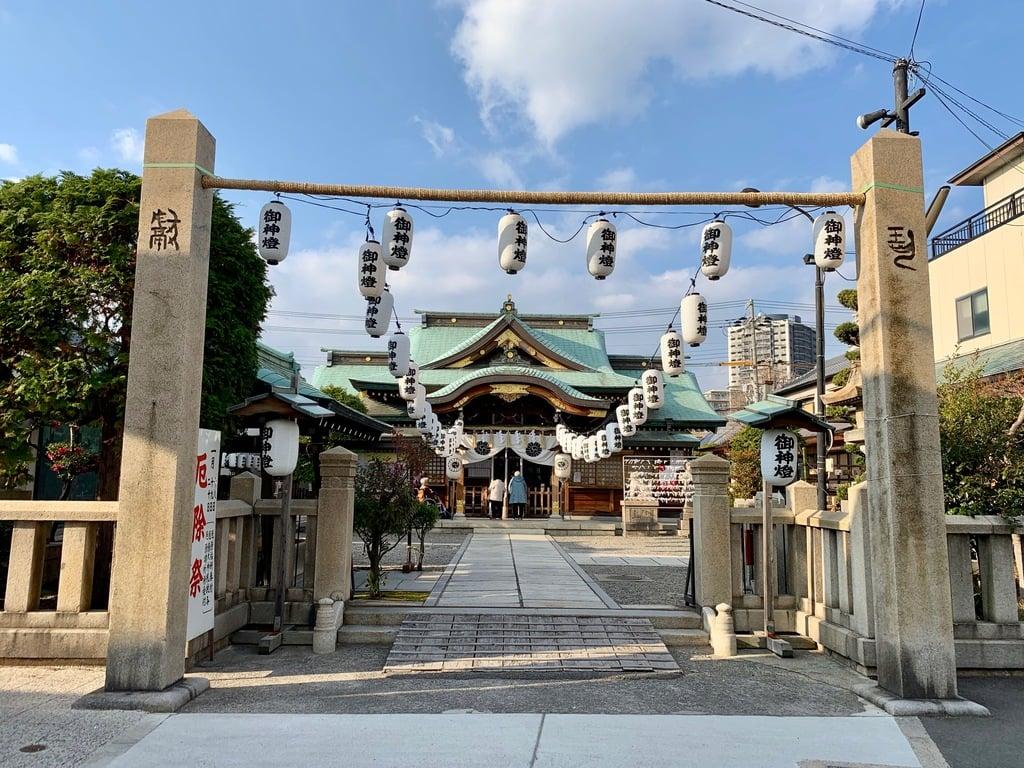 厄除の宮 駒林神社の鳥居