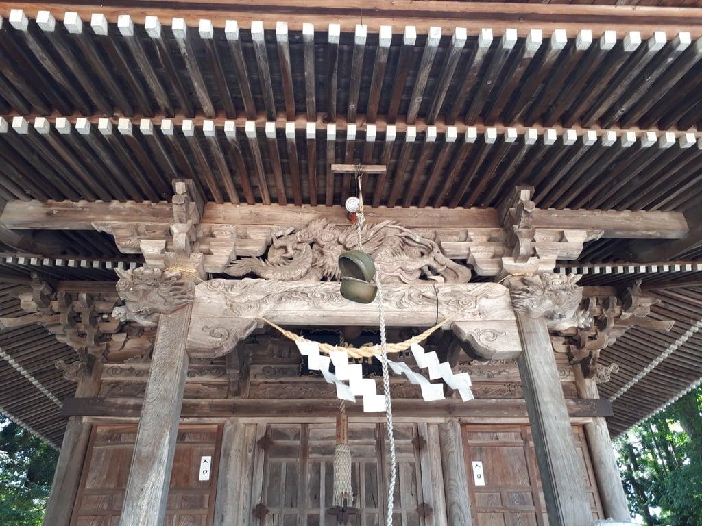 月山神社の本殿