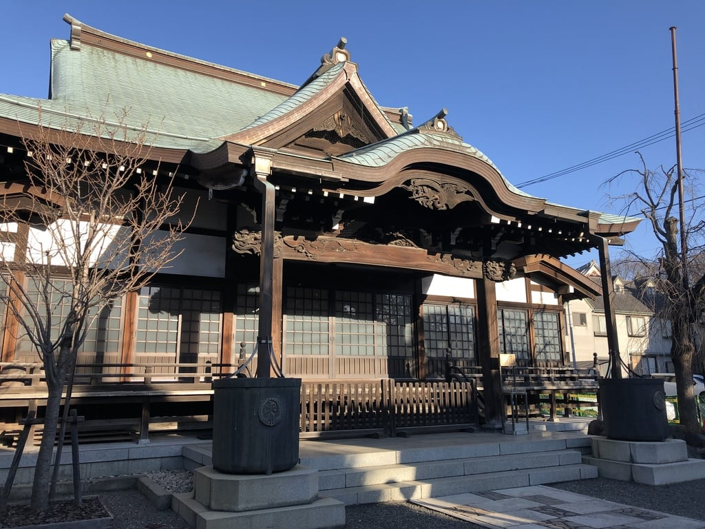 実相寺の本殿