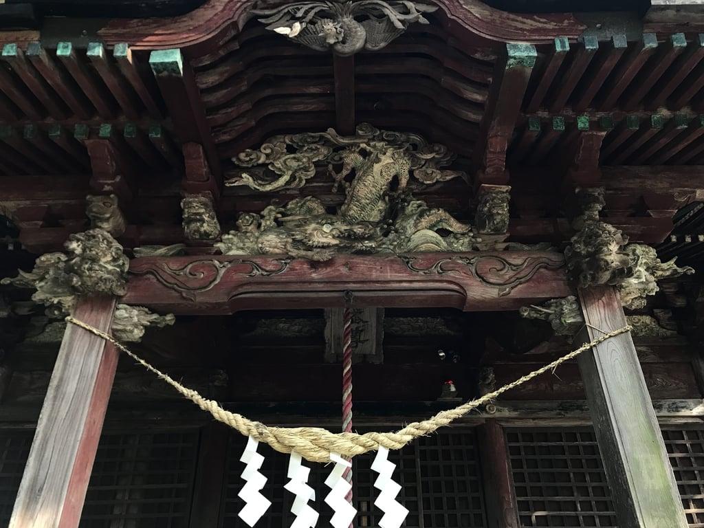 龜山神社の芸術