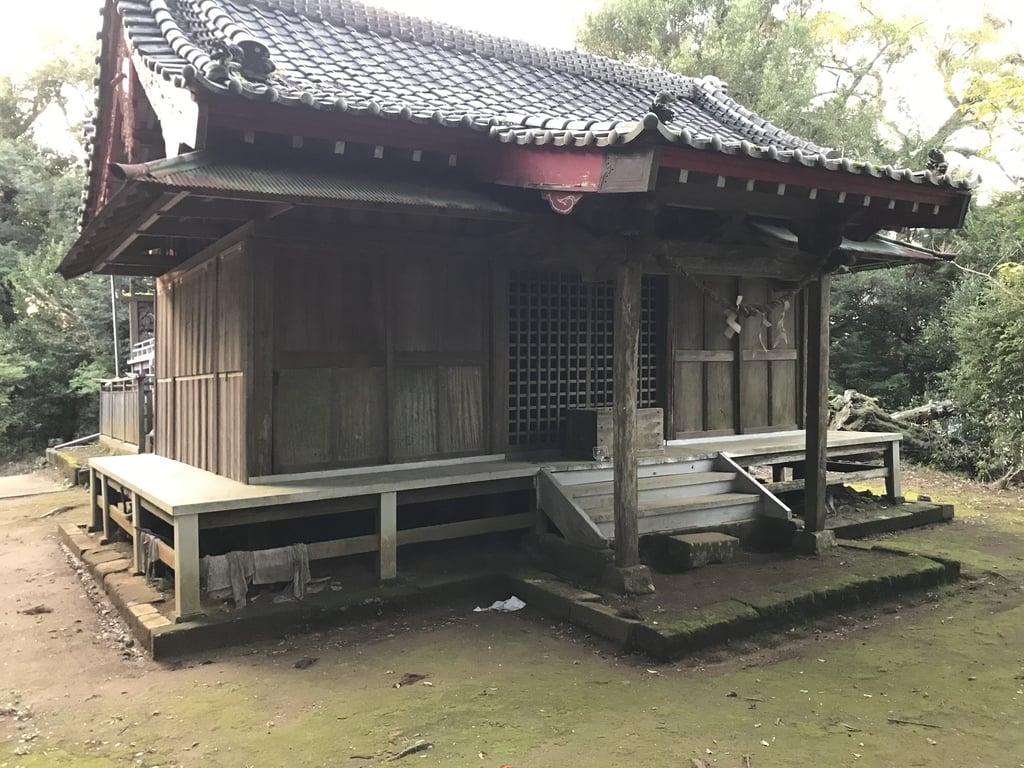 山神社の境内・文化財