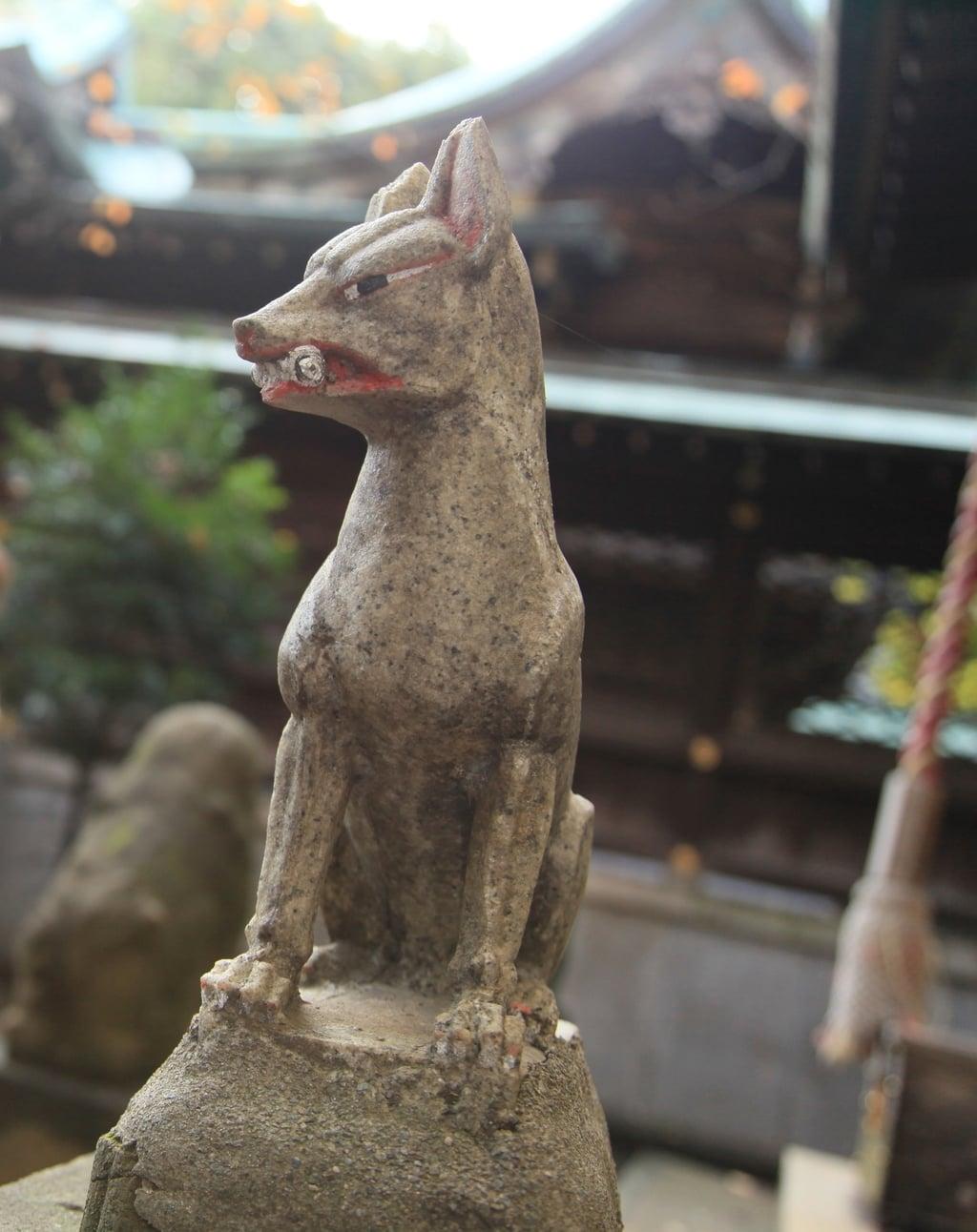 熊野神社の狛犬