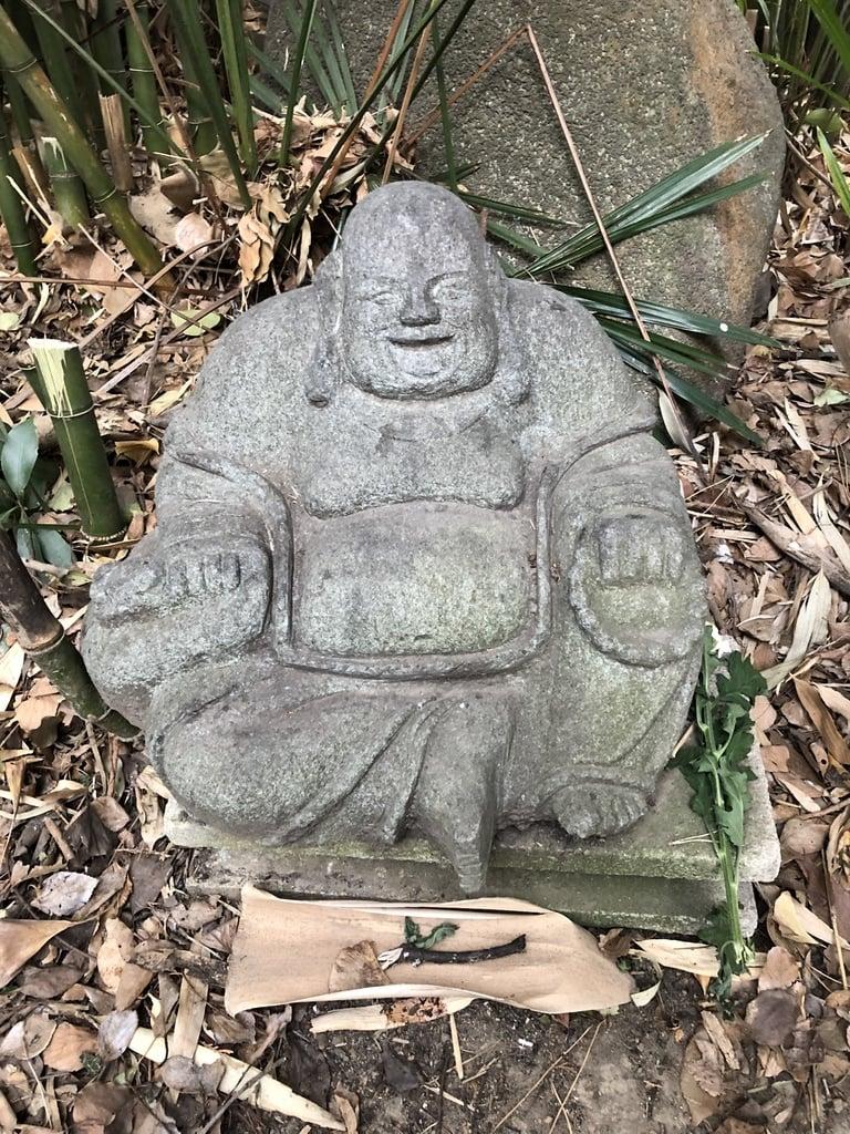 篠崎浅間神社の像